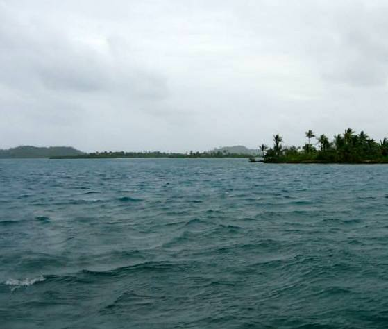Panamá Isla Caledonia