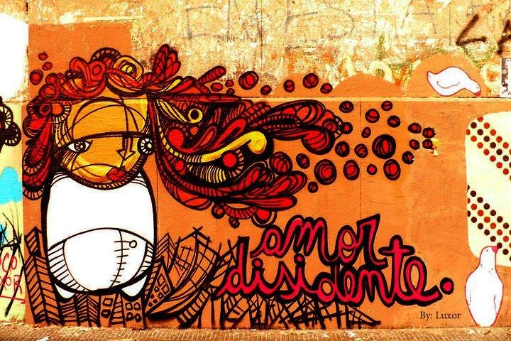 plan b viajero La ciudad de Las Diagonales arte urbano