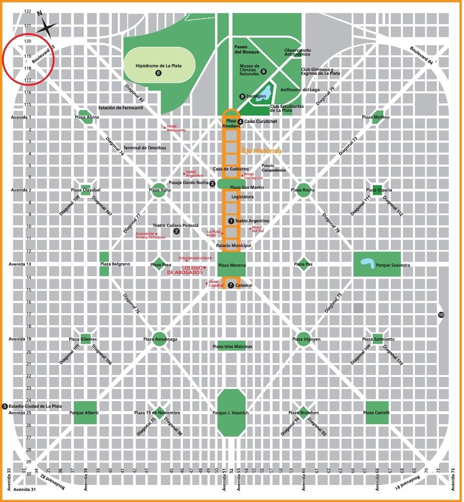 plan b viajero La ciudad de Las Diagonales
