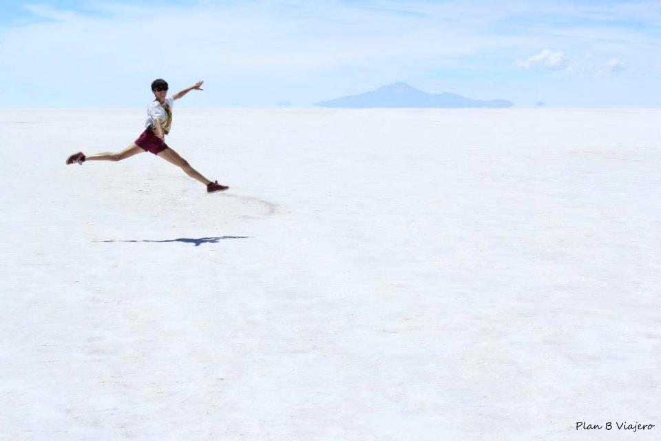 plan b viajero , Gabriela De Marcos, Salar Uyuni Bolivia