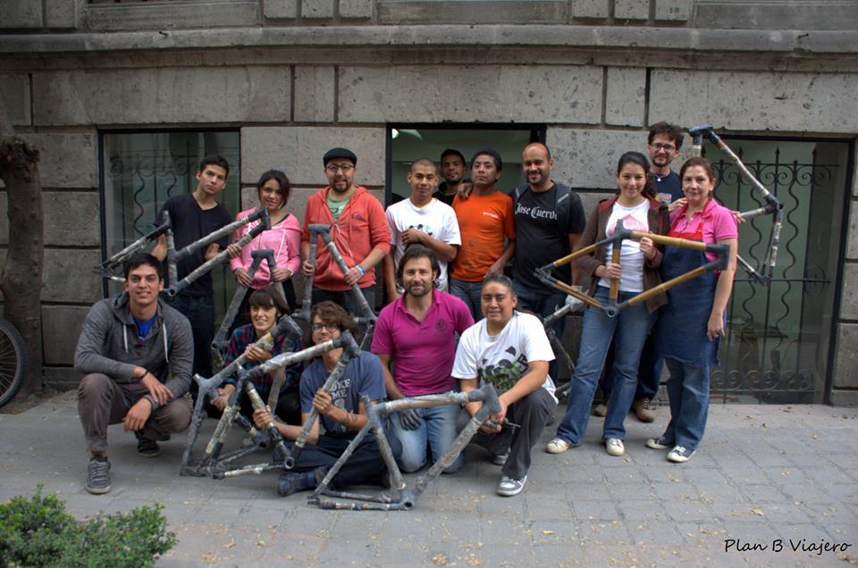 plan b viajero, como hacer una bici de bambu, cómo hacer una bici de bambú en Mexico , HTM bamboocycles