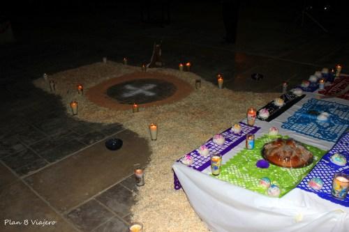 Altar Día de Muertos en Guerrero Negro