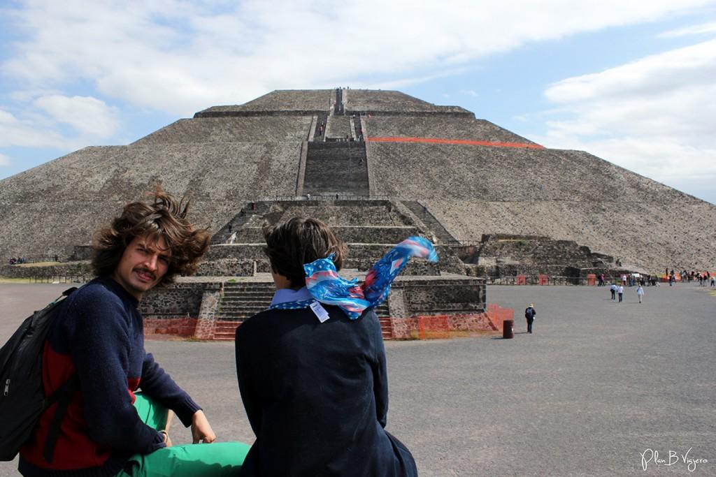 plan b viajero, piramide del sol teotihuacan, como llegar a teotihuacan