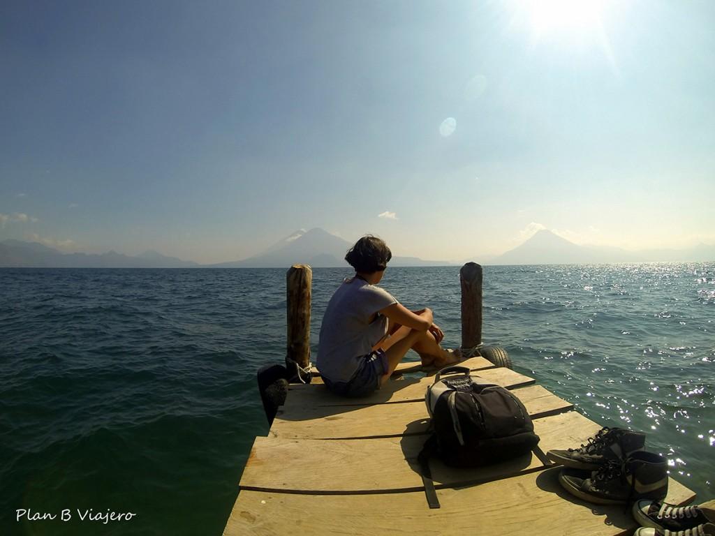 plan b viajero, Lago Atitlán panajachel