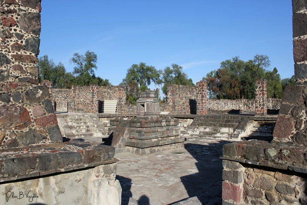 plan b viajero, Teotihuacan atetelco