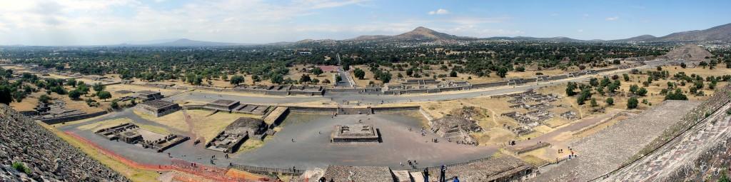 plan b viajero, Teotihuacan, calzada de los muertos teotihuacan