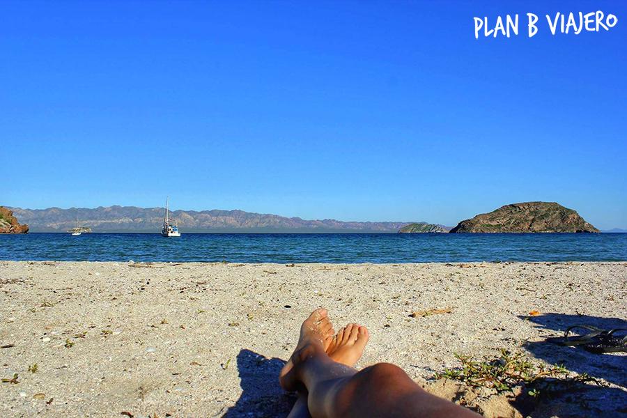 plan b viajero, baja california sur, playa el burro, Bahía Concepción