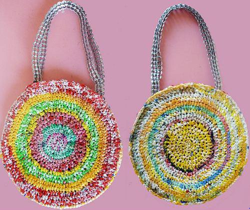 plan b viajero, ideas ecológicas y fáciles de hacer para ganar dinero viajando, ideas materiales reciclados, adornos con latas de aluminio, carteras con bolsas de plastico reciclado, bolsos con bolsas de plastico reciclado