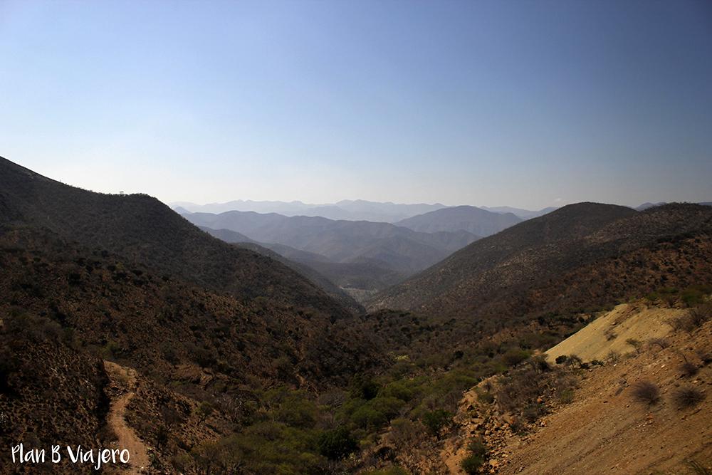Camino a Oaxaca