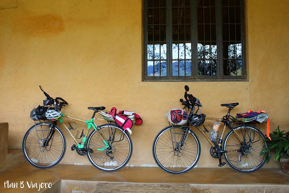 plan b viajero, ciudad de oaxaca, bicis de bambu