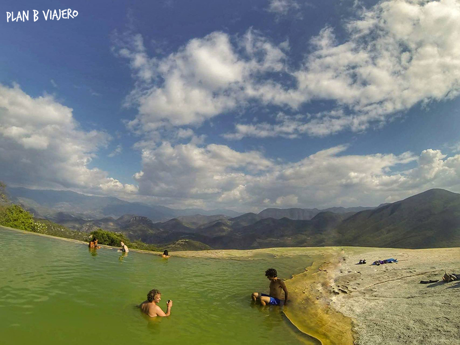 plan b viajero, pozas hierve el agua, plan b viajero, hierve el agua, como llegar a hierve el agua, viajar en bici por Oaxaca