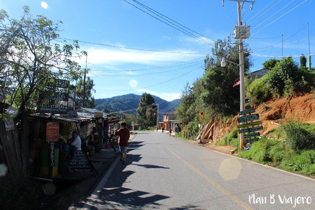 plan b viajero, San José del Pacífico pueblo