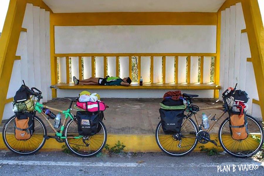 plan b viajero , peninsula de yucatan en bicicleta