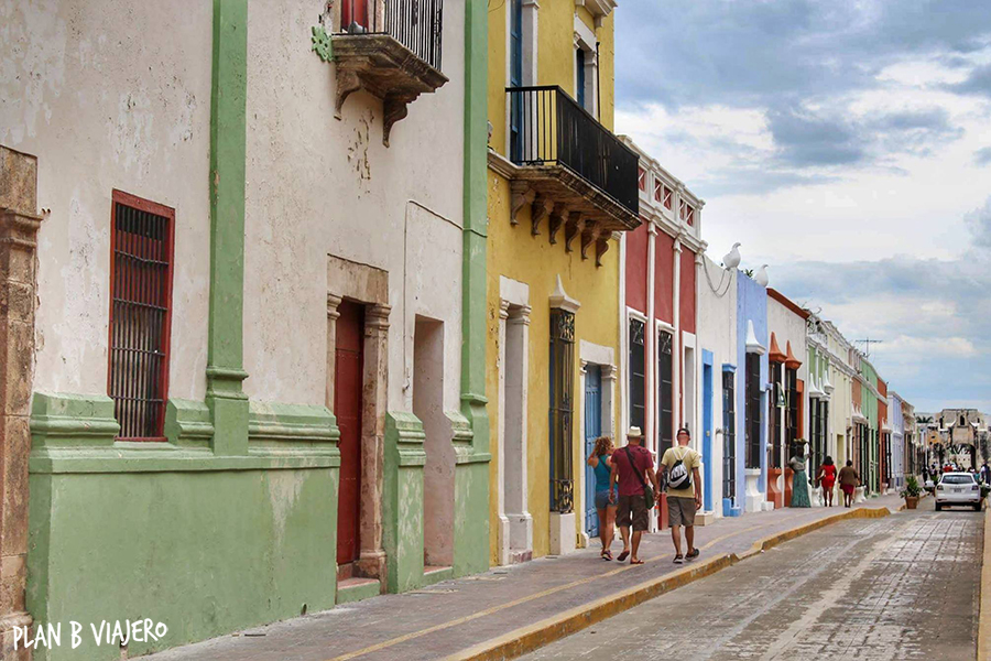 plan b viajero, Península de Yucatán , San Francisco de Campeche