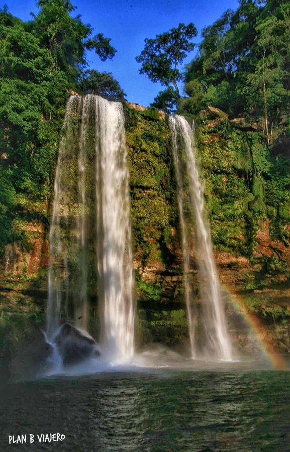 plan b viajero, cascadas imperdibles de chiapas, cascada misol ha