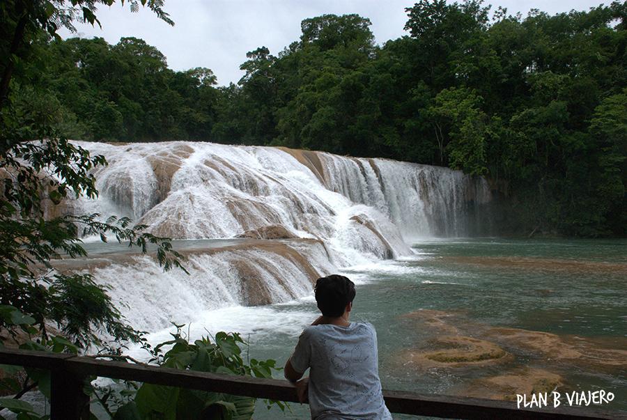 plan b viajero, cascadas imperdibles de chiapas, cascadas agua azul chiapas