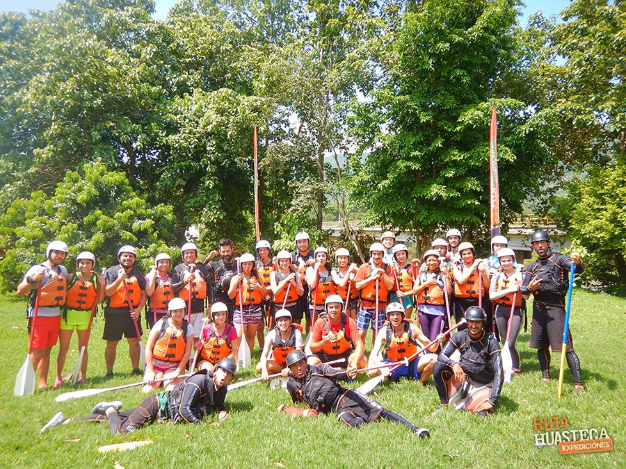 plan b viajero, rafting en rio tampaon, ruta huasteca