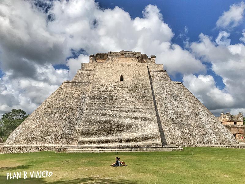 plan b viajero, uxmal, piramide del adivino, lugares para visitar cerca de Merida