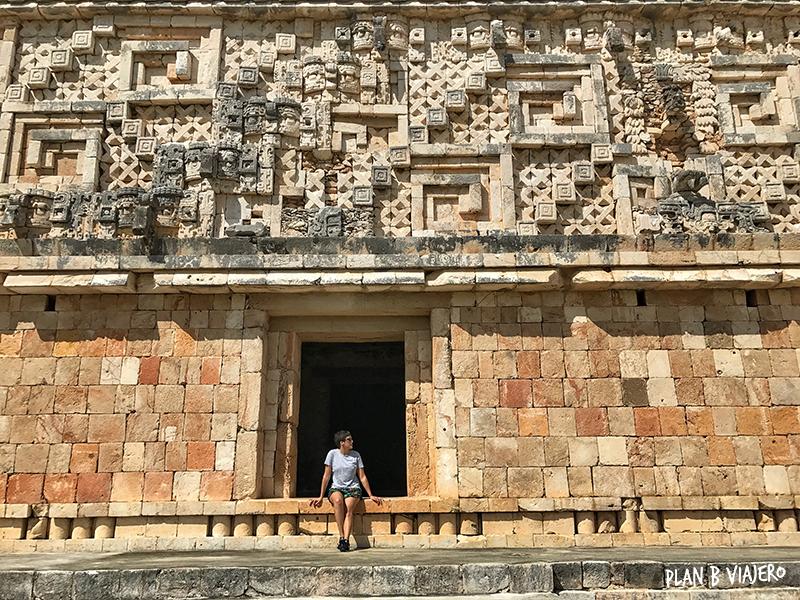 plan b viajero, uxmal yucatan, Palacio del Gobernador, Uxmal, gabriela de marcos, lugares para visitar cerca de merida
