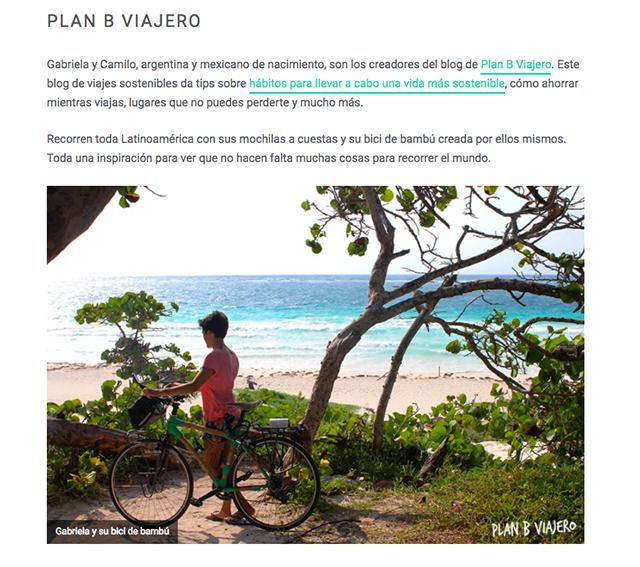 blog nattule, plan b viajero, mejores blogs de viajes sostenibles