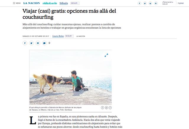 diario la nacion argentina, plan b viajero, viajar casi gratis
