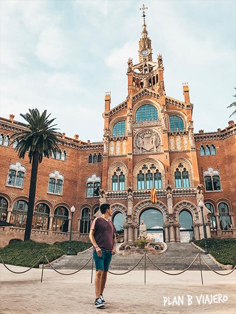 plan b viajero, hospital sant pau barcelona, que ver en barcelona