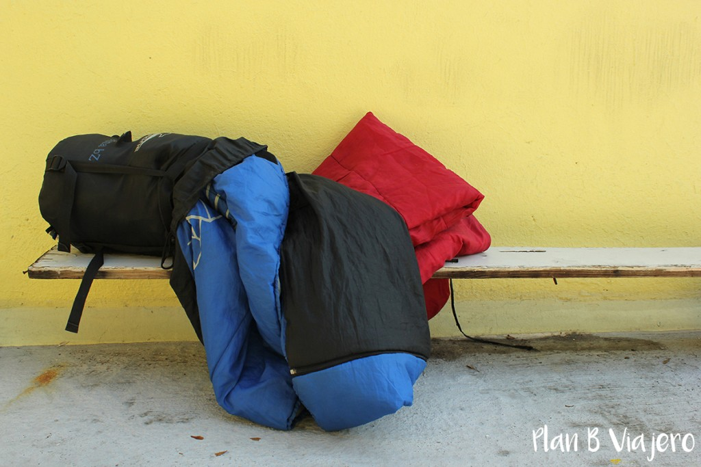 bolsa de dormir, sleeping