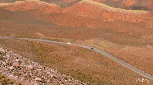 El paisaje en la ruta
