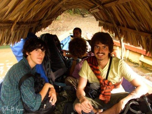 Llegada a México Frontera Corozal