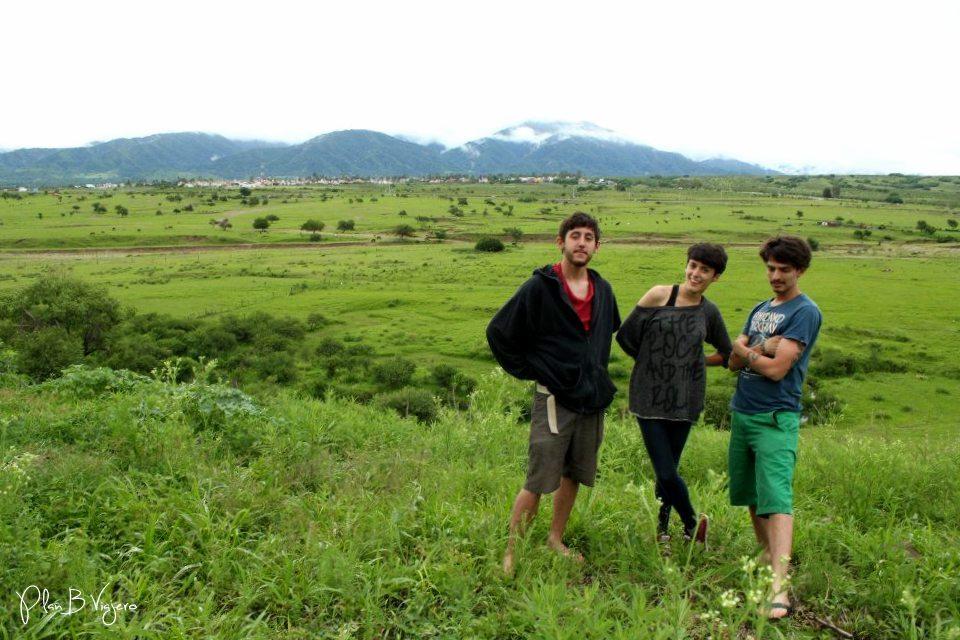 Disfrutando del paisaje salteño