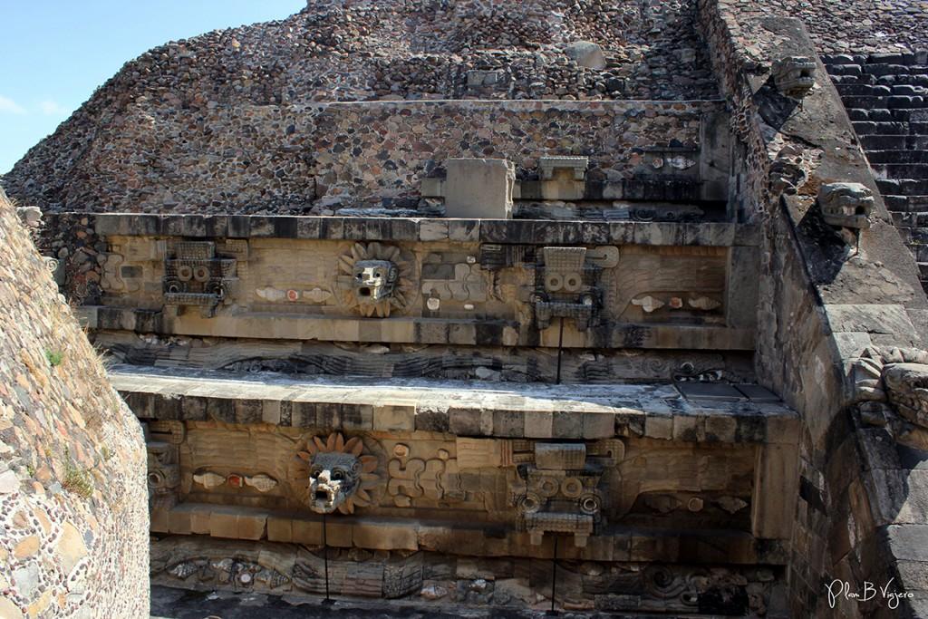 plan b viajero, templo de quetzalcoatl teotihuacan