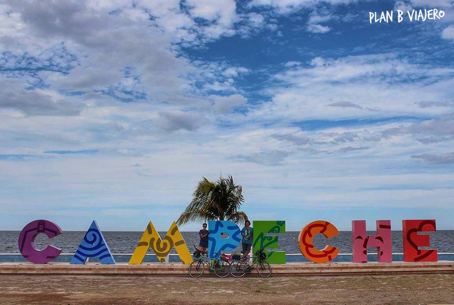 plan b viajero, península de yucatán en bici , san francisco de campeche