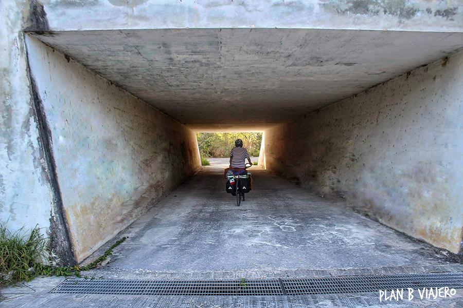 plan b viajero, Península de Yucatán en bicicleta , campeche