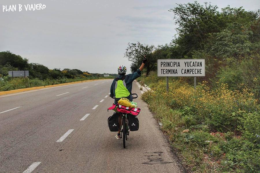 plan b viajero, Península de Yucatán en bicicleta , yucatan