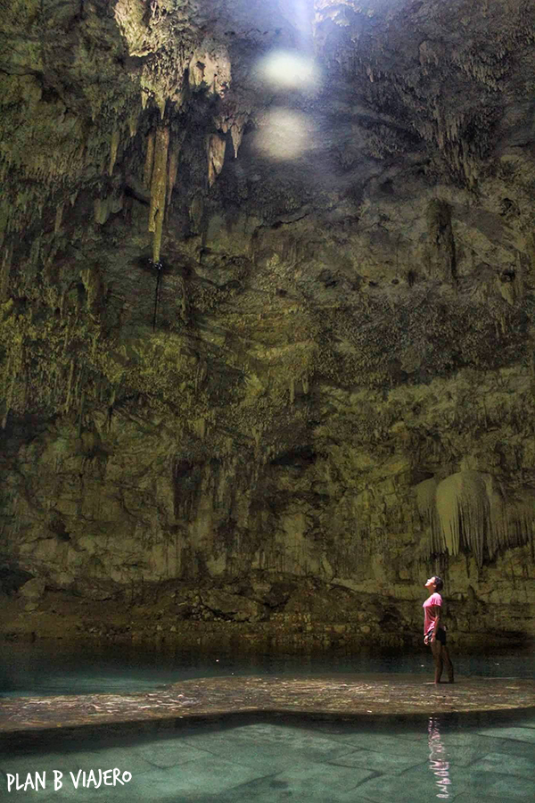 plan b viajero , Península de Yucatán en bici, cenote suytun