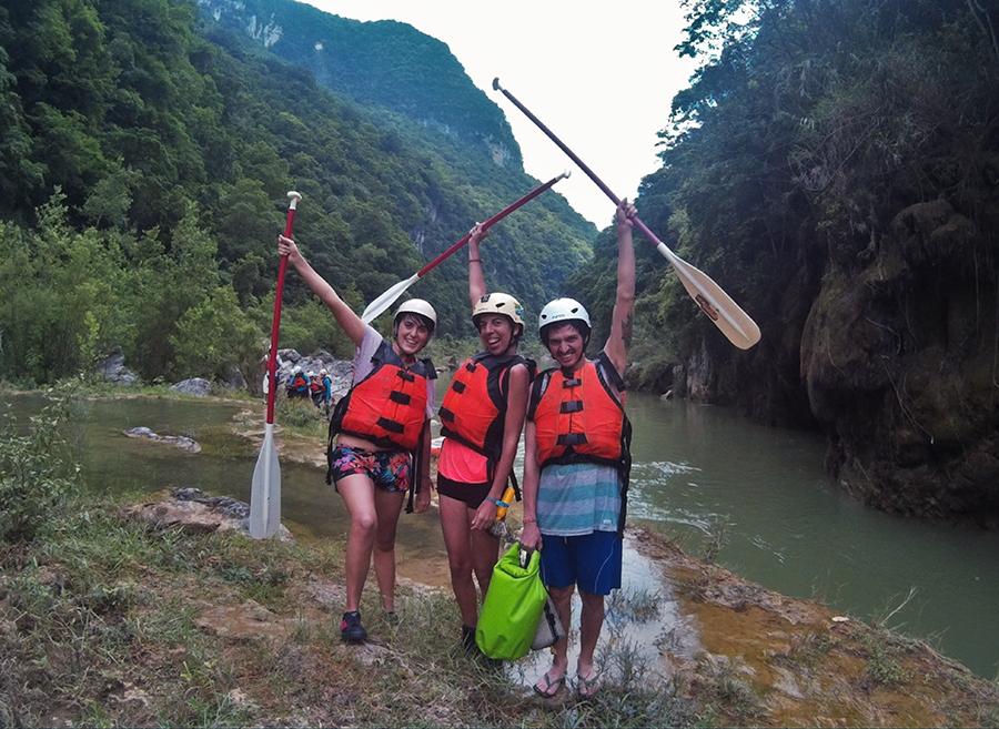 plan b viajero, san luis potosi, rafting con Ruta huasteca